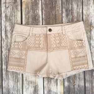 Altar'd State Embroidered Shorts